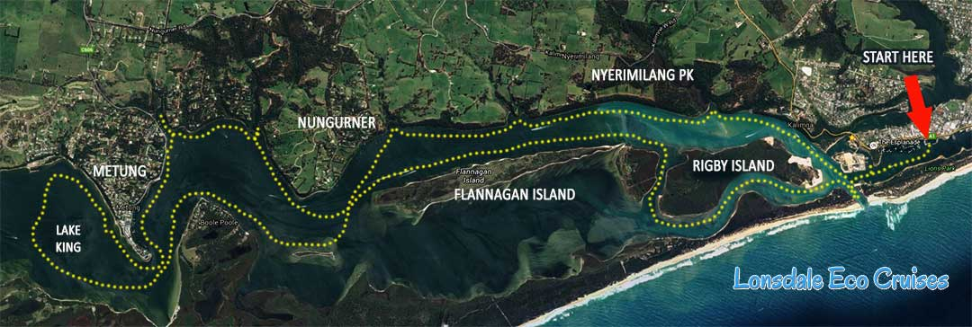 gippsland lakes map